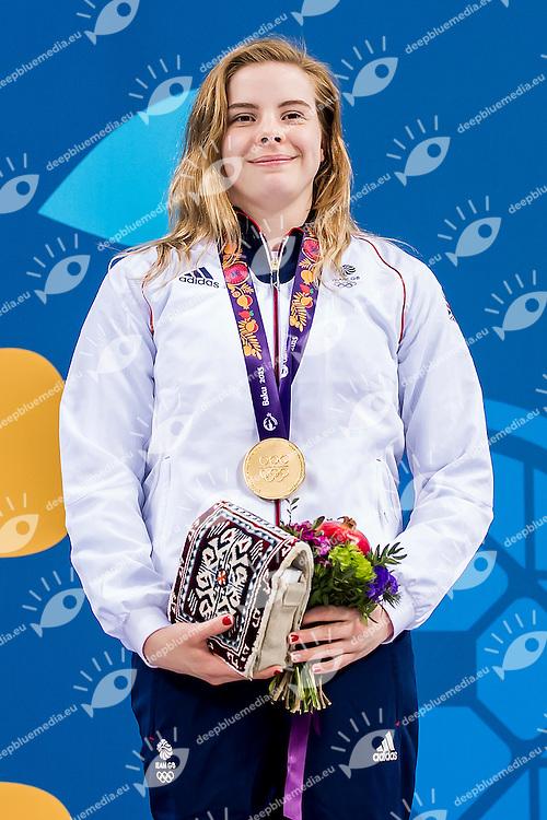 TORRANCE Katherine GBR<br /> 3M_Springboard Women Final Diving<br /> 1st European Olympic Games <br /> Baku Azerbaijan 12-28/08/2015<br /> Photo Andrea Masini/Deepbluemedia/Insidefoto