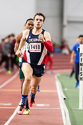 Boston University John Terrier Classic Indoor Track & Field: mens 500 meters, heat 2, Hovanec, UConn