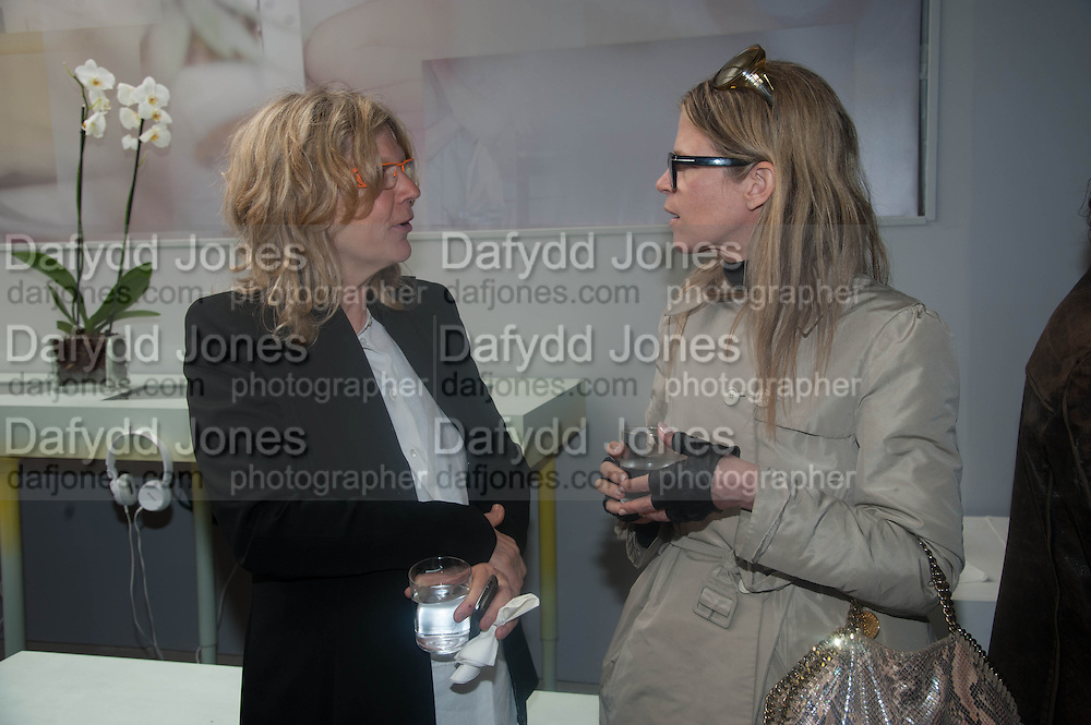 CAREY LOVELACE; YVONNE LE FORCE, Bloomberg Venice Conversations, Siddhartha Mukherjee, Rirkrit Tiravanija and Tomas Vu Daniel cook lunch for Sarah Sze. Palazzo Peckham. Venice. Venice Bienalle. 31 May 2013