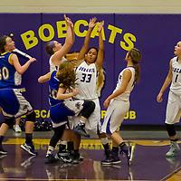 11-19-15 Berryville JR High Girls Basketball vs Bergman
