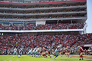 The San Francisco 49ers host the Dallas Cowboys at Levis Stadium in Santa Clara, Calif., on October 2, 2016. (Stan Olszewski/Special to S.F. Examiner)