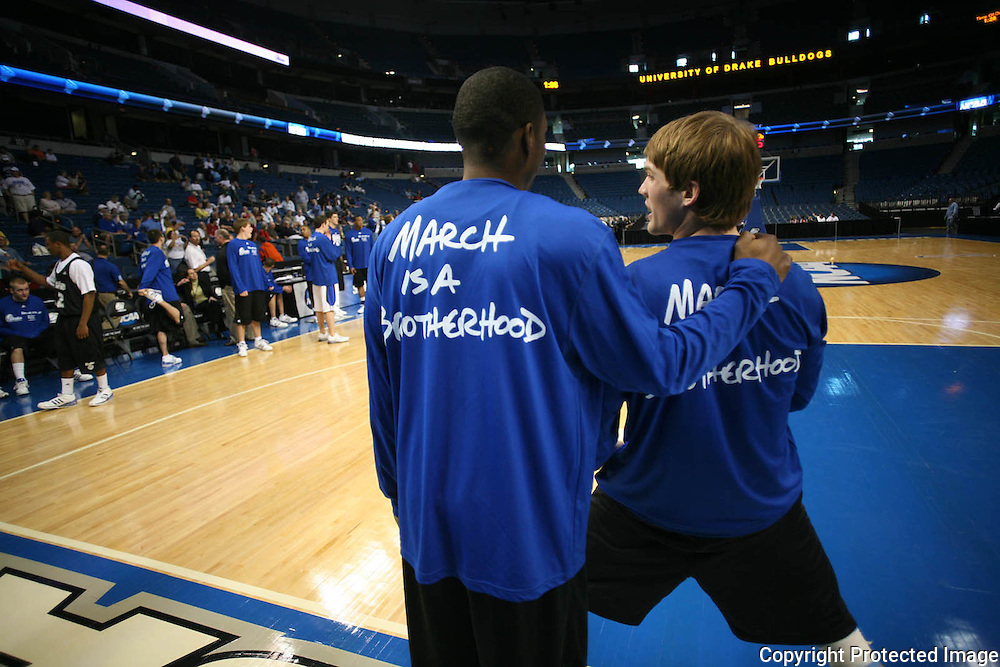 Drake showed up at the St. Pete Times Forum sporting new shirts for Thursday's practice.