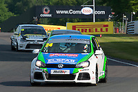 #24 Simon  RUDD  Team Hard  Volkswagen Golf  Milltek Sport Volkswagen Racing Cup at Oulton Park, Little Budworth, Cheshire, United Kingdom. May 30 2016. World Copyright Peter Taylor/PSP.