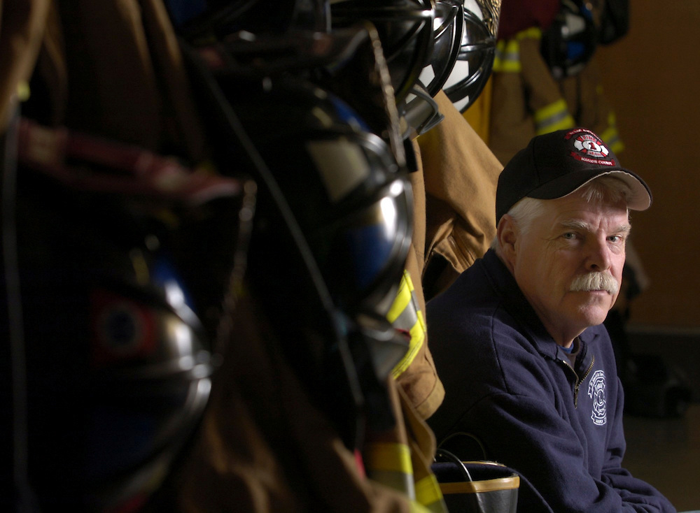 Captain Brad Eggen has worked in Marion County Fire Station 6, in Keizer, for the past 21 years.