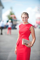 04/08/2013 Megan Brennan Dunboune Co. Meath at the last day of the  Galway Races. Picture:Andrew Downes