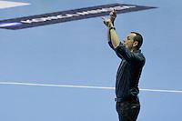 Patrice Canayer - 05.03.2015 - Montpellier / Cesson Rennes - 17eme journee de Division 1<br />Photo : Andre Delon / Icon Sport