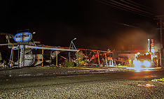 Dargaville-Robertson Plastics destroyed by fire