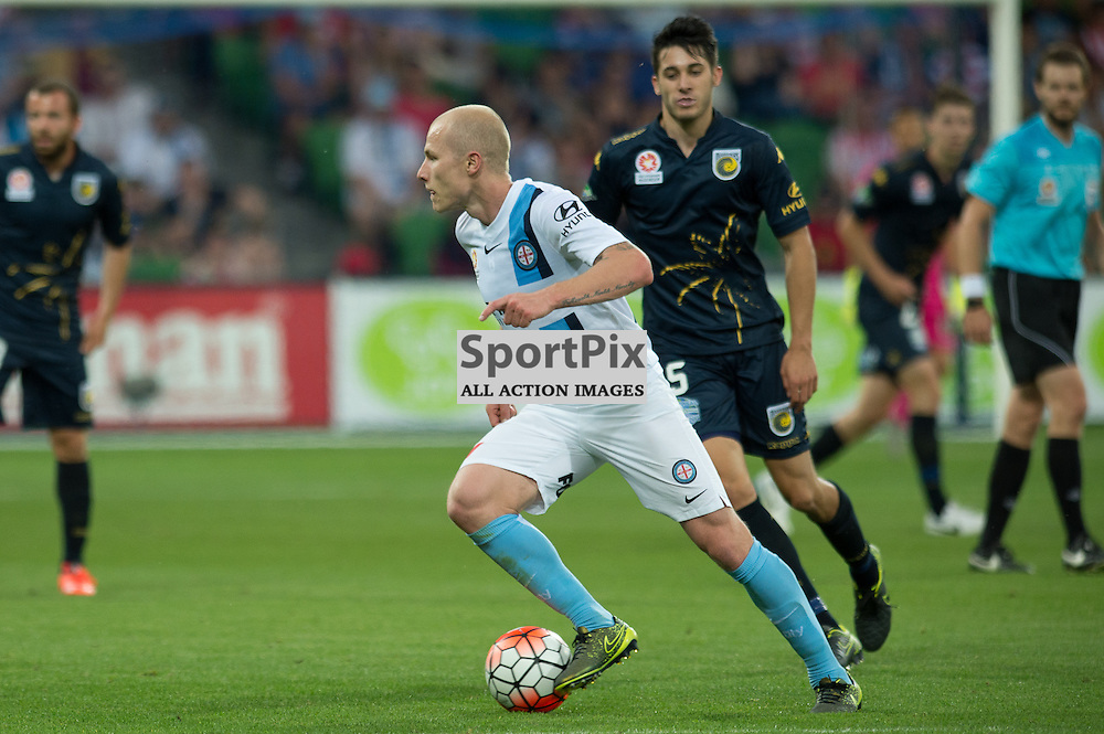 Aaron Mooy of Melbourne City - Hyundai A-League,  25th October 2015, RD 3, Melbourne City FC v Central Coast Mariners with a win to City 3:1 © Mark Avellino | SportPix.org.uk