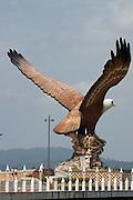 Concrete Sea Eagle Monument.