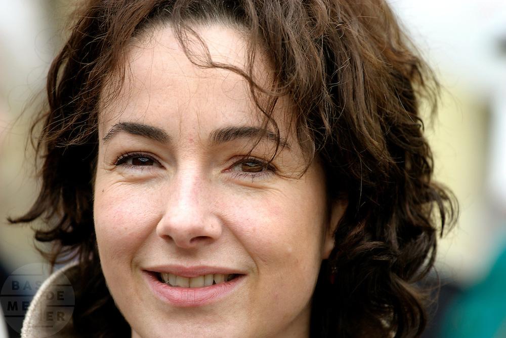 Femke Halsema, lijsttrekker GroenLinks.<br /> <br /> Femke Halsema, party leader of GroenLinks