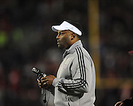 Ole Miss vs. Texas A&M Coach Kevin Sumlin in Oxford, Miss. on Saturday, October 6, 2012. Texas A&M won 30-27...