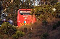 Fotball<br /> Bråk i Frankrike<br /> VM 2010<br /> 20.06.2010<br /> Foto: imago/Digitalsport<br /> NORWAY ONLY<br /> <br /> NB: DISSE BILDENE INNGÅR IKKE I NOEN FASTAVATLER. ALL BRUK VIL BLI FAKTURERT IHT GJELDENDE SATSER<br /> <br /> Clash durant l entrainement de l equipe de France - le bus de l equipe de France quitte le terrain de Pezuula - Fields of Dreams - Knysna - 20-06-10