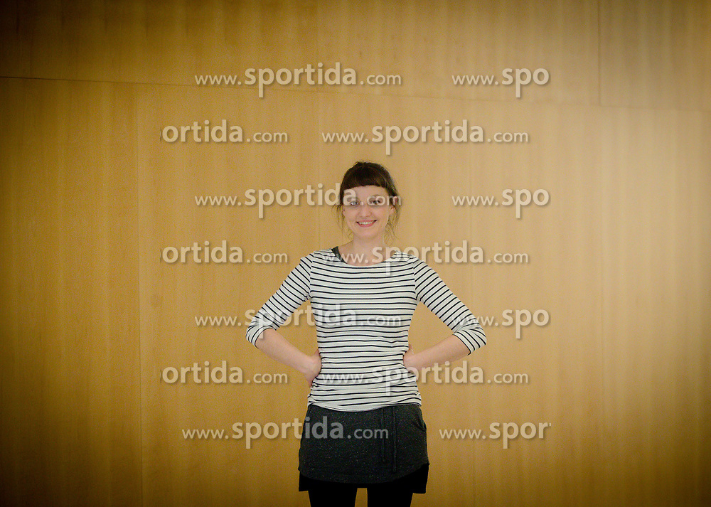 Portrait of Jessy Medernach from Berlin (GER), on March 16, 2017 in Ljubljana, Slovenia. Photo by Vid Ponikvar / Sportida