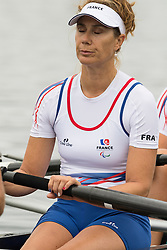 Antoine JESEL, Remy TARANTO, Anne-Laure FRAPPANT, Guylaine MARCHAND, FRA, LTA Mixed Coxed Four at Rio 2016 Paralympic Games, Brazil