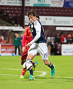 Scotland's Liam Henderson during Scotland Under-21 v FYR Macedonia,  UEFA Under 21 championship qualifier  at Tynecastle, Edinburgh. Photo: David Young<br /> <br />  - © David Young - www.davidyoungphoto.co.uk - email: davidyoungphoto@gmail.com