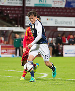 Scotland's Liam Henderson during Scotland Under-21 v FYR Macedonia,  UEFA Under 21 championship qualifier  at Tynecastle, Edinburgh. Photo: David Young<br /> <br />  - &copy; David Young - www.davidyoungphoto.co.uk - email: davidyoungphoto@gmail.com