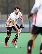 BLOEMENDAAL - Hockey - Bloemendaal-Oranje Rood 3-2. Benjamin Stanzl (Oranje-Rood)  .  COPYRIGHT KOEN SUYK