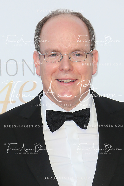 MONTE-CARLO, MONACO - JUNE 11:  HSH Prince Albert II of Monaco attends the Closing Ceremony and Golden Nymph Awards of the 54th Monte Carlo TV Festival on June 11, 2014 in Monte-Carlo, Monaco.  (Photo by Tony Barson/FilmMagic)