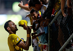 September 1, 2018 - Columbus, OH, U.S. - COLUMBUS, OH - SEPTEMBER 01: Artur (8) of Columbus Crew SC signs autographs for fans after the MLS regular season game between the Columbus Crew SC and the New York City FC on September 01, 2018 at Mapfre Stadium in Columbus, OH. The Crew won 2-1. The Crew won 2-1. (Photo by Adam Lacy/Icon Sportswire) (Credit Image: © Adam Lacy/Icon SMI via ZUMA Press)