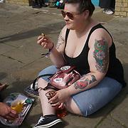 London, UK. 27 May 2017. The Great British Tattoo Show at Alexandra Palace, London,UK