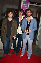 Members of rock group Supergrass MARK QUINN, ROB COOMBS,  and GAZ COOMBESat a party to launch Pearl Lowe's fashion held at The Cross. 141 Portland Road, Holland Park, W11 on 30th October 2006.<br /><br />NON EXCLUSIVE - WORLD RIGHTS
