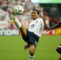 Photo: Chris Ratcliffe.<br /> <br /> England v Trinidad & Tobago. Group B, FIFA World Cup 2006. 15/06/2006.<br /> <br /> Aaron Lennon of England.