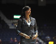 Ole Miss vs. Southeastern Louisiana head coach Lori Davis Jones in Oxford, Miss. on Friday, November 9, 2012.