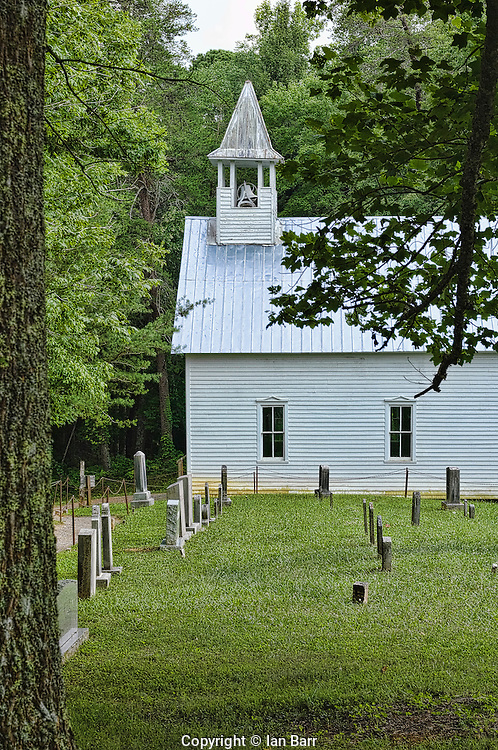 Primitive Baptist Church,Cades Cove, Tennessee.