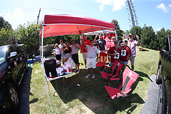 Blue Lot Tailgate prior to the Chick-fil-A Kickoff Game at the Mercedes-Benz Stadium, Saturday, August 31, 2019, in Atlanta. Alabama won 42-3. (Chris Eason via Abell Images for Chick-fil-A Kickoff)