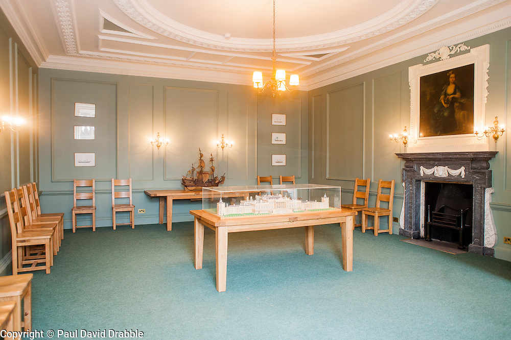 Wentworth Woodhouse The Ship Room<br /> <br /> 26 June 2013<br /> Image &copy; Paul David Drabble<br /> www.pauldaviddrabble.co.uk