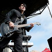 Dommin performing at Warped Tour 2009 in Ventura, California USA on June 28, 2009.