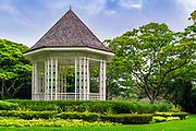 The Band Stand at the Singapore Botanic Gardens, Singapore, Republic of Singapore