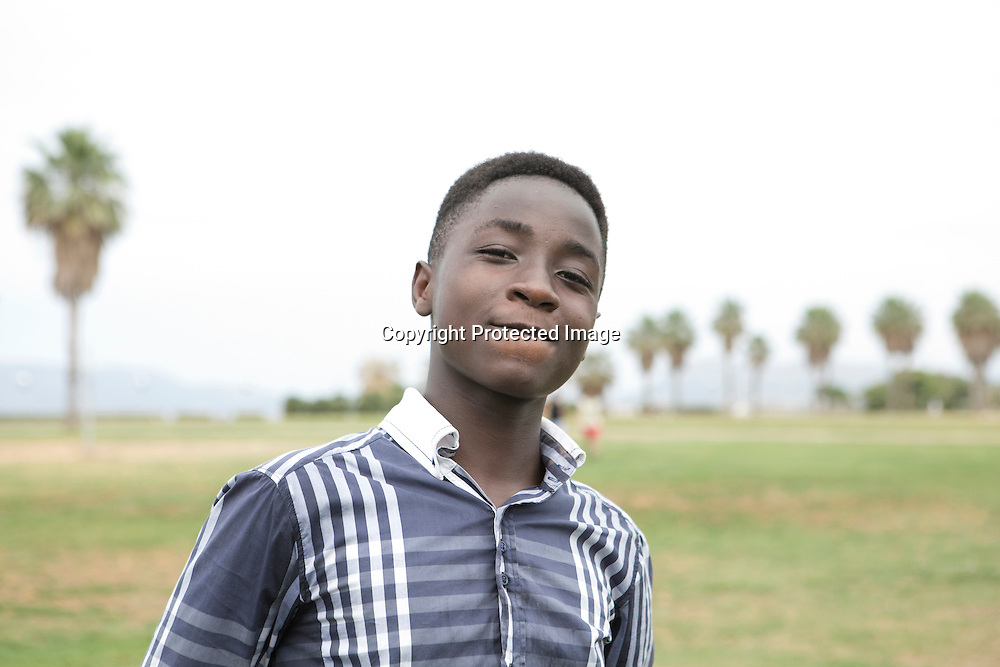 14 years old from Gambia. Traveled with his 11 years old brother to Libya and than by boat to Palermo, Sicily, Italy.