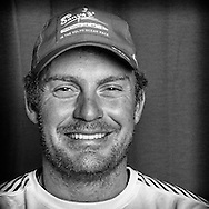 PORTUGAL, Lisbon. 31st May 2012. Volvo Ocean Race, Leg 7 (Miami-Lisbon) finish. Ryan Houston, Helsman/Trimmer, Team Sanya.