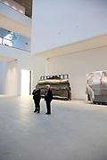 Mannheim. 08.11.17 | Zum Neubau Kunsthalle<br /> Innenstadt. Kunsthalle. Pressegespräch zum Neubau der Neuen Kunsthalle. Die Eröffnung der Neuen Kunsthalle im Dezember nur mit Skulpturen - keine Gemälde wegen technischen Verzögerungen.<br /> <br /> <br /> <br /> <br /> BILD- ID 01539 |<br /> Bild: Markus Prosswitz 08NOV17 / masterpress (Bild ist honorarpflichtig - No Model Release!)