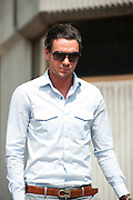 Jack Tweed leaving Redbridge Magistrates court  after pleading guilty to assault in Essex on August 03rd 2011..Jade Goody's widower, 23, appears charged with threatening and abusive behaviour, in relation to an alleged incident outside Deuces Bar and Lounge, in Chigwell, Essex, on January 3. Appearing alongside are Tweed's younger brother Lewis, 20, and friend Mark Wright, 24, who appeared on reality TV show The Only Way Is Essex..