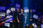 Gary Anderson walk-on during the World Darts Championships 2018 at Alexandra Palace, London, United Kingdom on 29 December 2018.