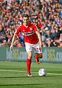 Middlesbrough midfielder Stewart Downing (19)  during the EFL Sky Bet Championship match between Middlesbrough and Swansea City at the Riverside Stadium, Middlesbrough, England on 22 September 2018.