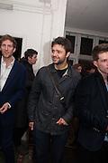 HENRY HUDSON; CONRAD SHAWCROSS, Hominidae- Henry Hudson private view. TJ Boulting. Riding House St. London. 20 November 2012.