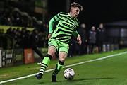 Forest Green Rovers Ollie Artwell(37) during the FA Youth Cup match between Forest Green Rovers and Helston Athletic at the New Lawn, Forest Green, United Kingdom on 29 October 2019.
