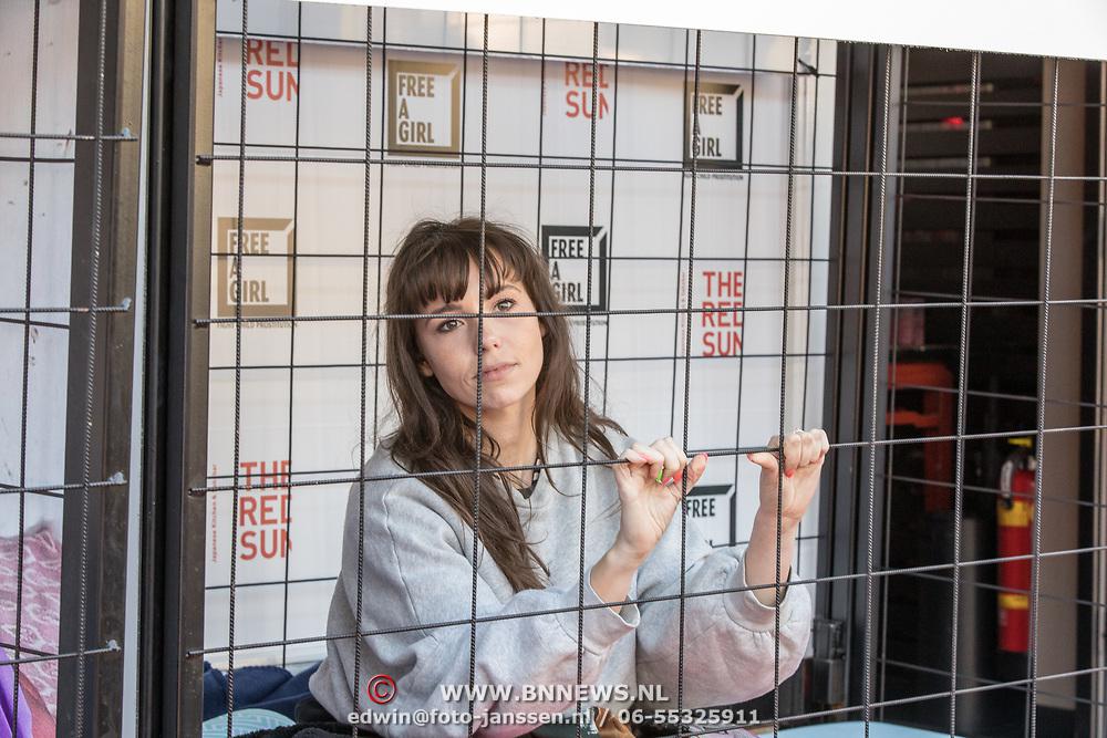 NLD/Blaricum/20190513 -  Lock Me Up - Free a Girl actie benefietfeest, Gwen van Poorten