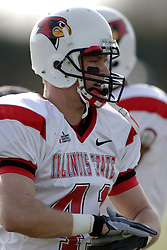 25 November 2006: Dan Weiner.&#xD;The Redbirds romped the Panthers by a score of 24-13.&#xD;This game was a 1st round NCAA Division 1 Playoff held at O'Brien Stadium on the campus of Eastern Illinois University in Charleston Illinois.<br />