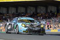 Richard Lietz (AUT) / Michael Christensen (DNK) / Philipp Eng (AUT) #77 Dempsey Proton Racing Porsche 911 RSR,  during the Le Mans 24 Hr June 2016 at Circuit de la Sarthe, Le Mans, Pays de la Loire, France. June 19 2016. World Copyright Peter Taylor/PSP.