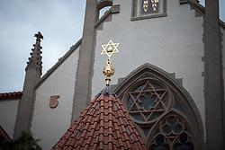 28 October 2017, Prague, Czech Republic: Maisel Synagogue in Prague Old Town.
