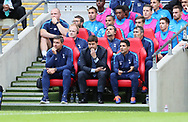 Tottenham's Mauricio Pochettino looks on during the pre season match at Wembley Stadium, London. Picture date 5th August 2017. Picture credit should read: David Klein/Sportimage