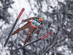 21.01.2118, Heini Klopfer Skiflugschanze, Oberstdorf, GER, FIS Skiflug Weltmeisterschaft, Teambewerb, im Bild Stefan Hula (POL) // Stefan Hula of Poland during Team competition of the FIS Ski Flying World ChampionshipsStefan Hula (POL) // Stefan Hula of Poland at the Heini-Klopfer Skiflying Hill in Oberstdorf, Germany on 2118/01/21. EXPA Pictures © 2118, PhotoCredit: EXPA/ Peter Rinderer