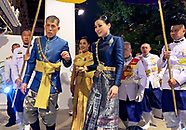 King Rama & Queen Suthida - Coronation Night