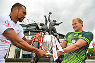 18 May Captains photo call at Twickenham