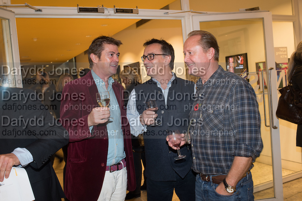 RUPERT LUND; ROBERT GREEN; SIMON MOXON, Luxem Events and Piper Building Arts present 'Invisible City'. An exhibition of contemporary photography featuring artists Lady Harriet Brocket, Kenny Laurenson and Gavin Aldred. <br /> The Piper Building, Peterborough Rd. London. 12 November 2015