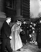 28/01/1953<br /> 01/28/1953<br /> 28 January 1953<br /> Cardinal John Dalton, Archbishop of Armagh and Primate of All Ireland,  returns from Rome where he was created Cardinal Priest of S. Agata dei Goti by Pope Pius XII on the 12 of January.